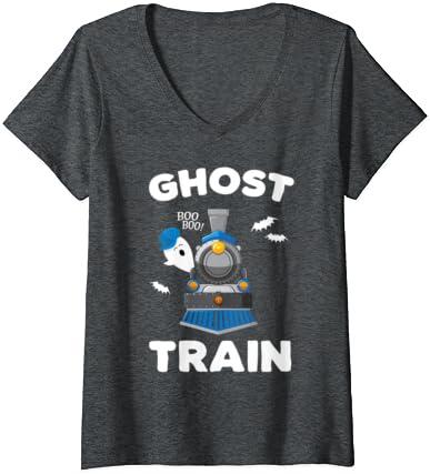 Xmas Funny T Shirt Boys /& Girls New Tee Kids Pull Up Ghost Halloween Tshirt