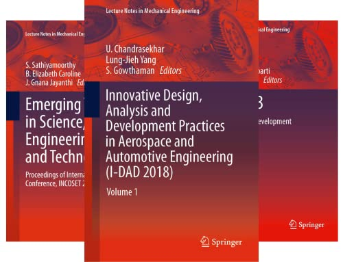Lecture Notes in Mechanical Engineering (50 Book Series)