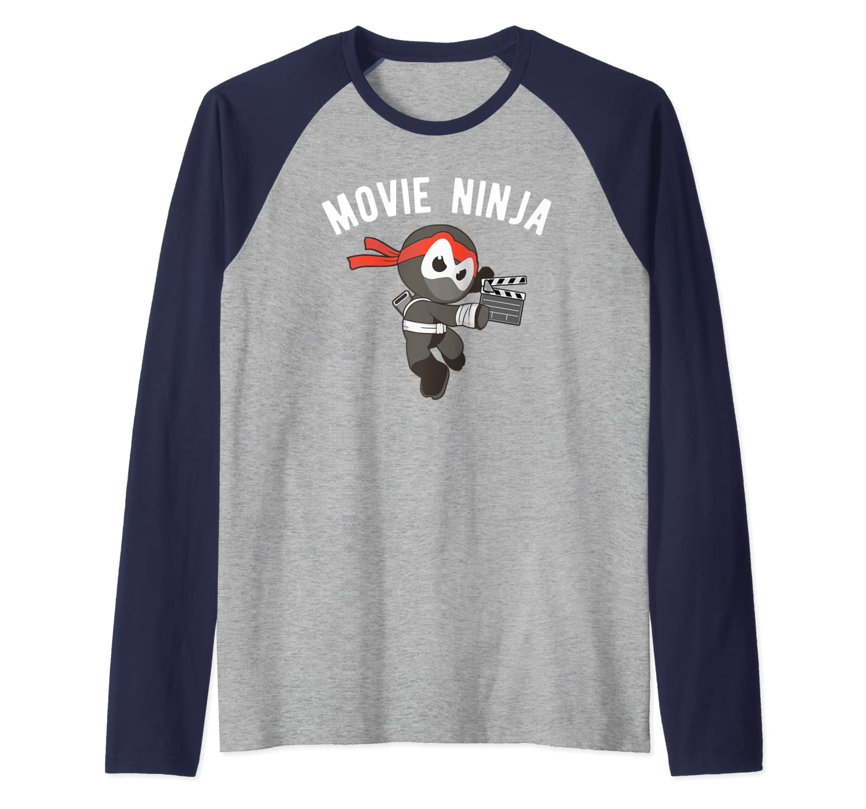 Amazon.com: Movie Ninja Martial Arts Film Making Raglan ...