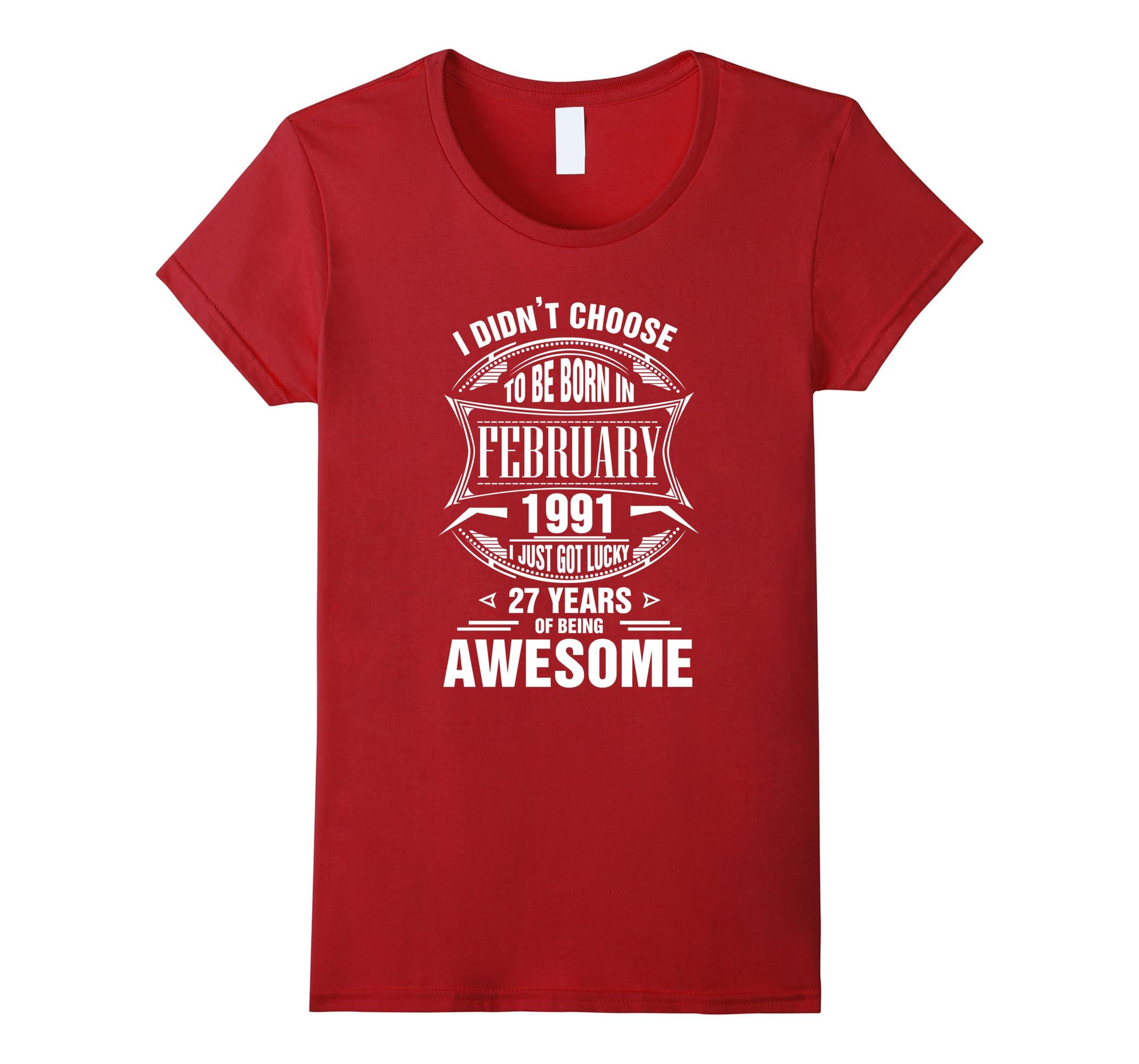 choose February shirt Cool Tee-Newstyleth