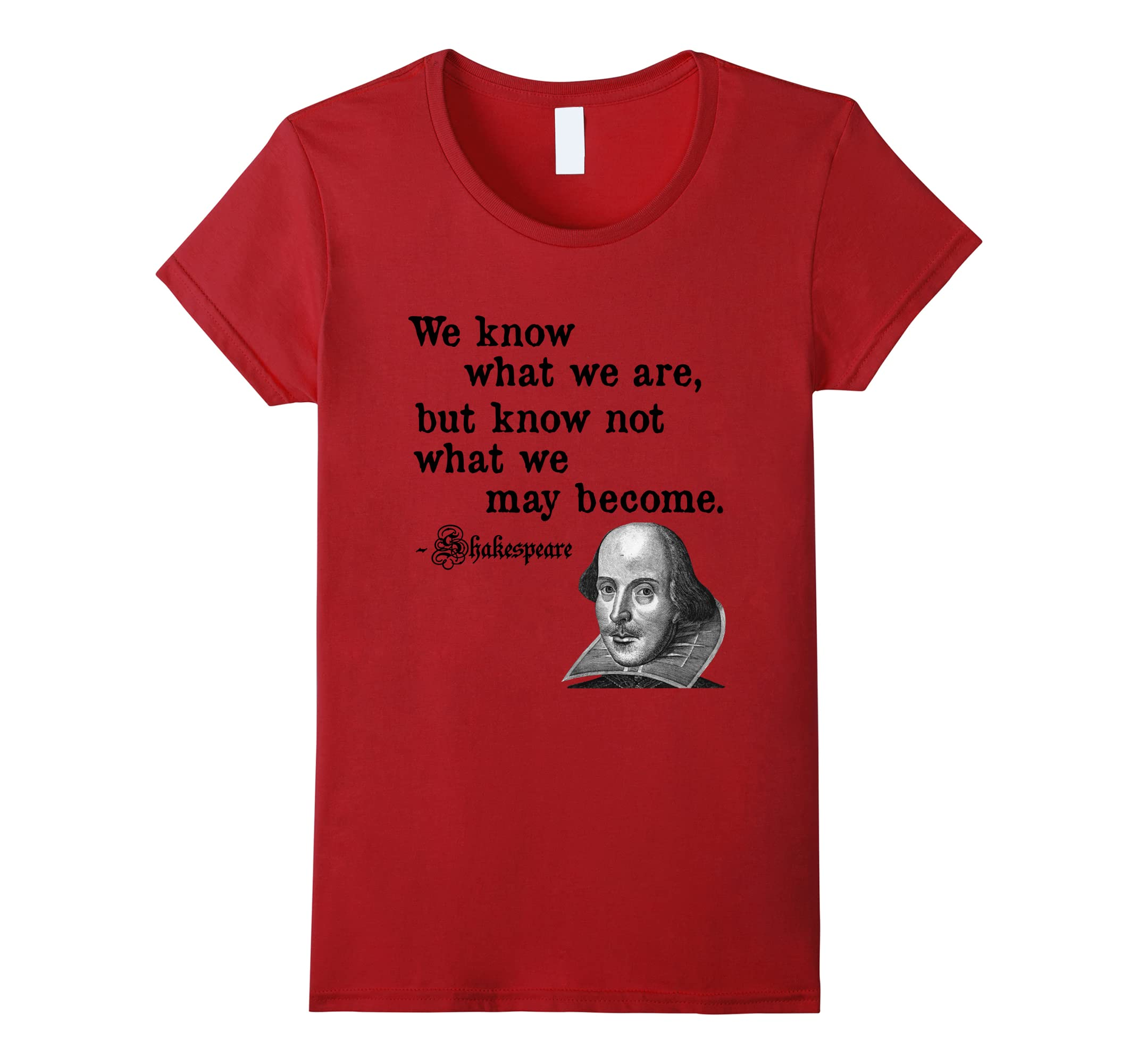 Know What Shakespeare Quote Shirt-Samdetee