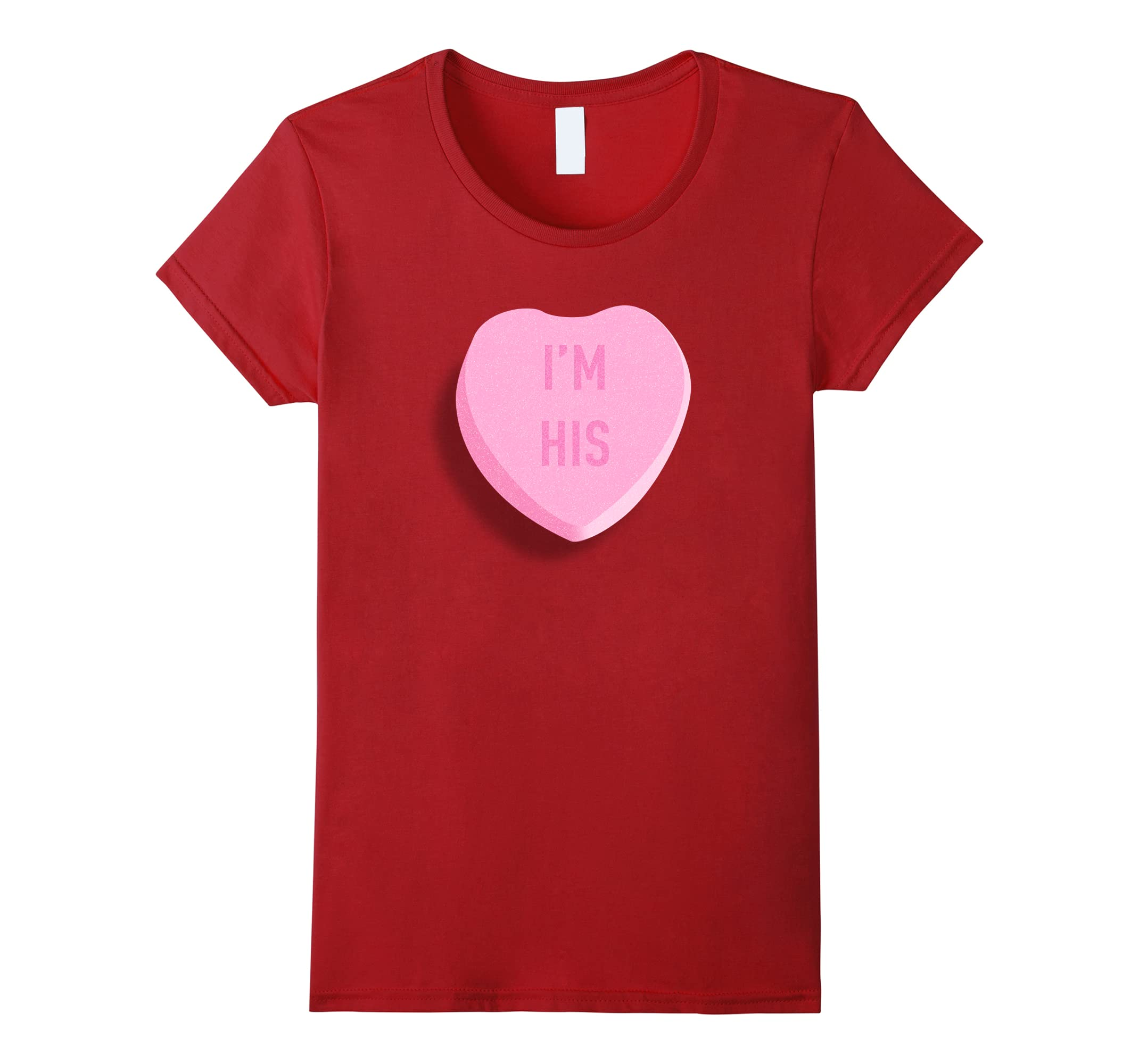 Funny Valentines Candy Couple Tshirt-Teesml