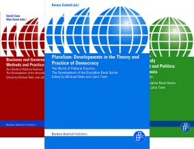 The World of Political Science – The development of the discipline Book (11 Book Series)