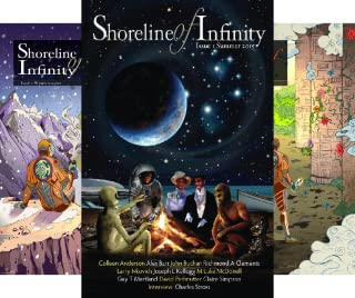 Shoreline of Infinity-Science Fiction Magazine (15 Book Series)