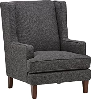 Stone & Beam Highland Modern Wingback Living Room Accent Chair, 31.9