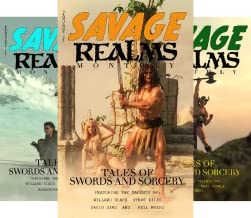 Savage Realms Monthly Dark Fantasy Sword and Sorcery Adventure Magazine (6 Book Series)