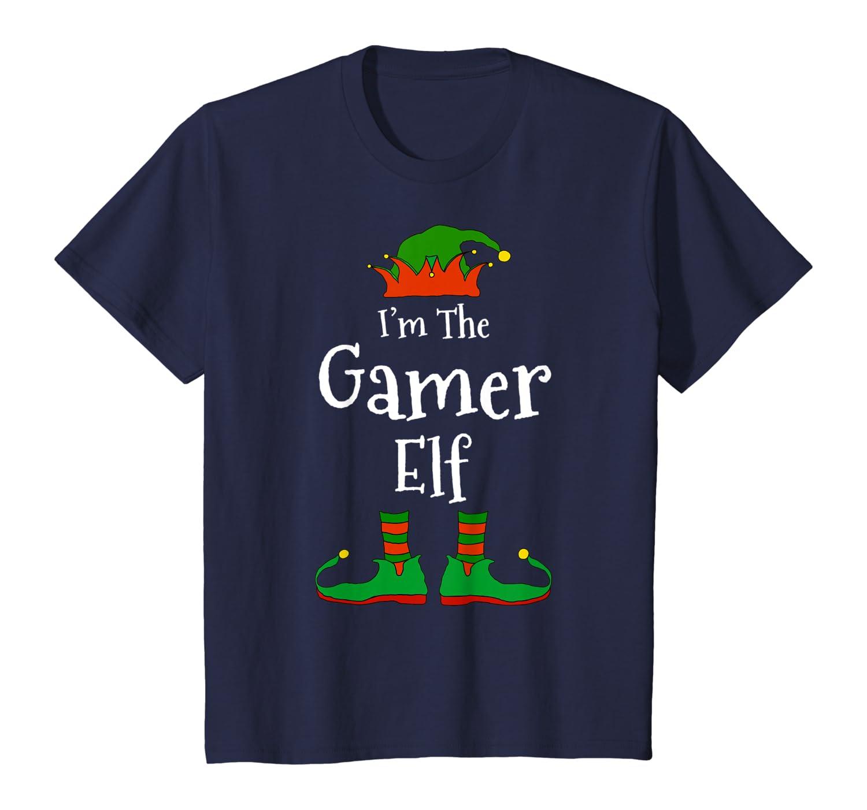 I'm The Gamer Elf Family Matching Funny Christmas Group Gift T-Shirt-Cotoa