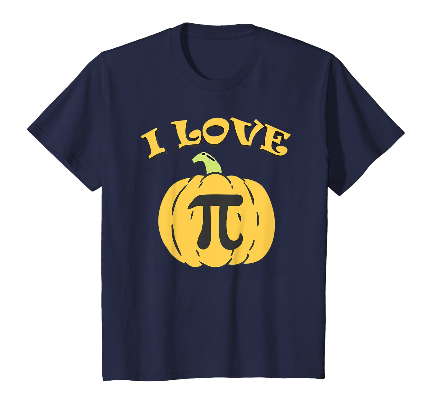 Pumpkin Pie Funny Halloween Party and Thanksgiving Math Gift T-Shirt