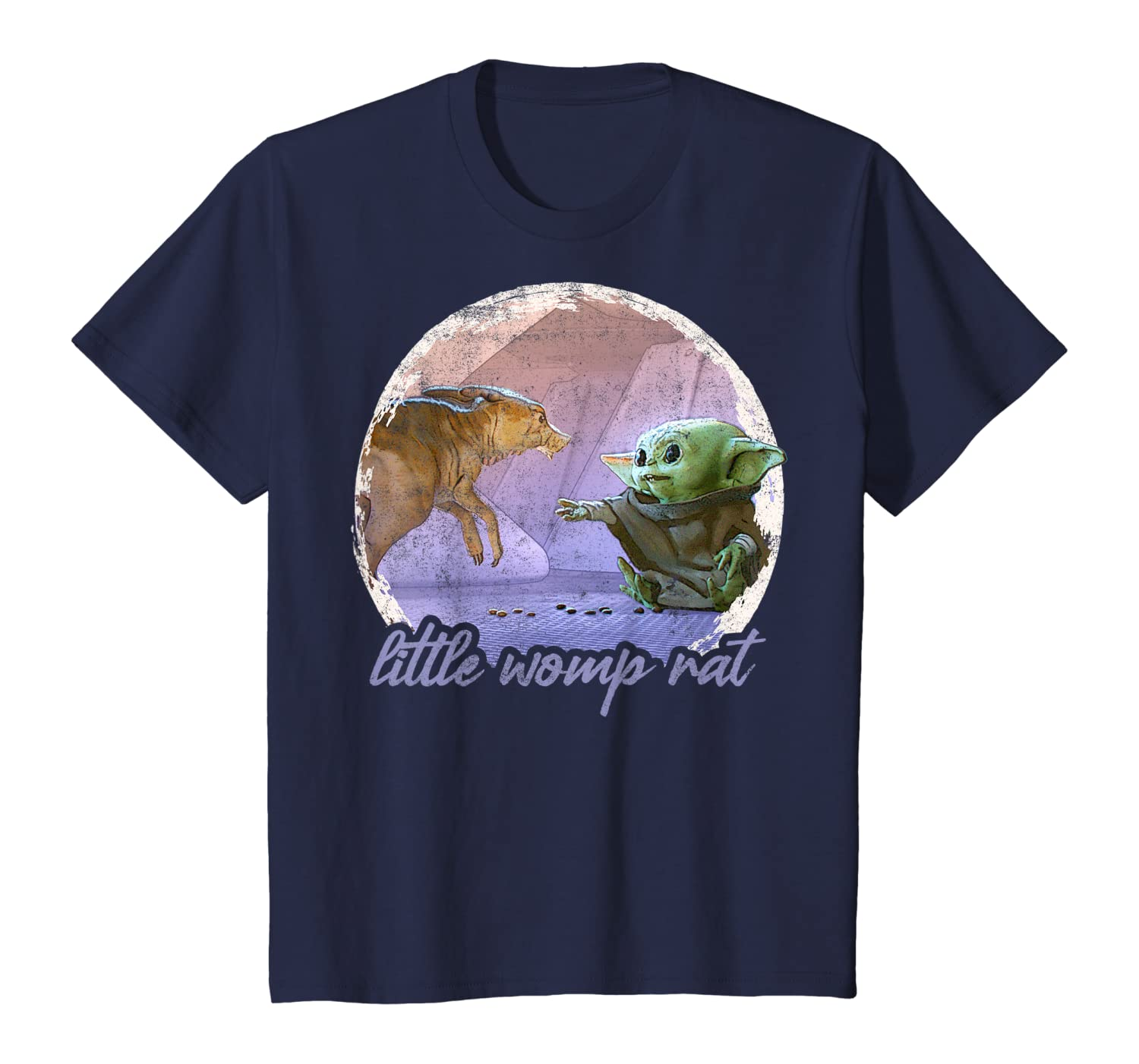 Amazon Com Star Wars The Mandalorian The Child Womp Rat Concept Art T Shirt Clothing Womp rats were creatures native to tatooine, and were considered pests by local moisture farmers who hunted them for sport. amazon com