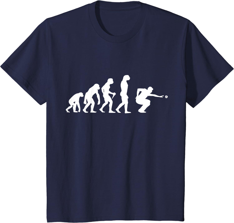 D/éveloppement de boules et joueurs de p/étanque T-Shirt