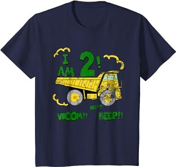 Truck Tee Construction Birthday Party Dump Truck Birthday Dump Truck Shirt