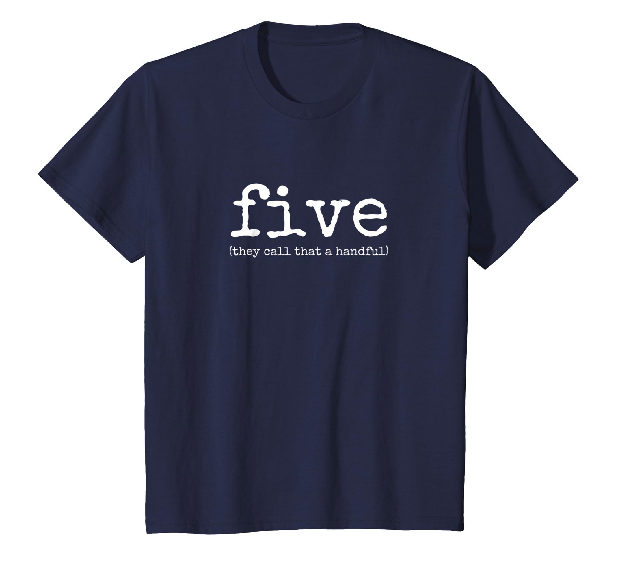 Amazon Kids 5th Birthday Shirt For Boys