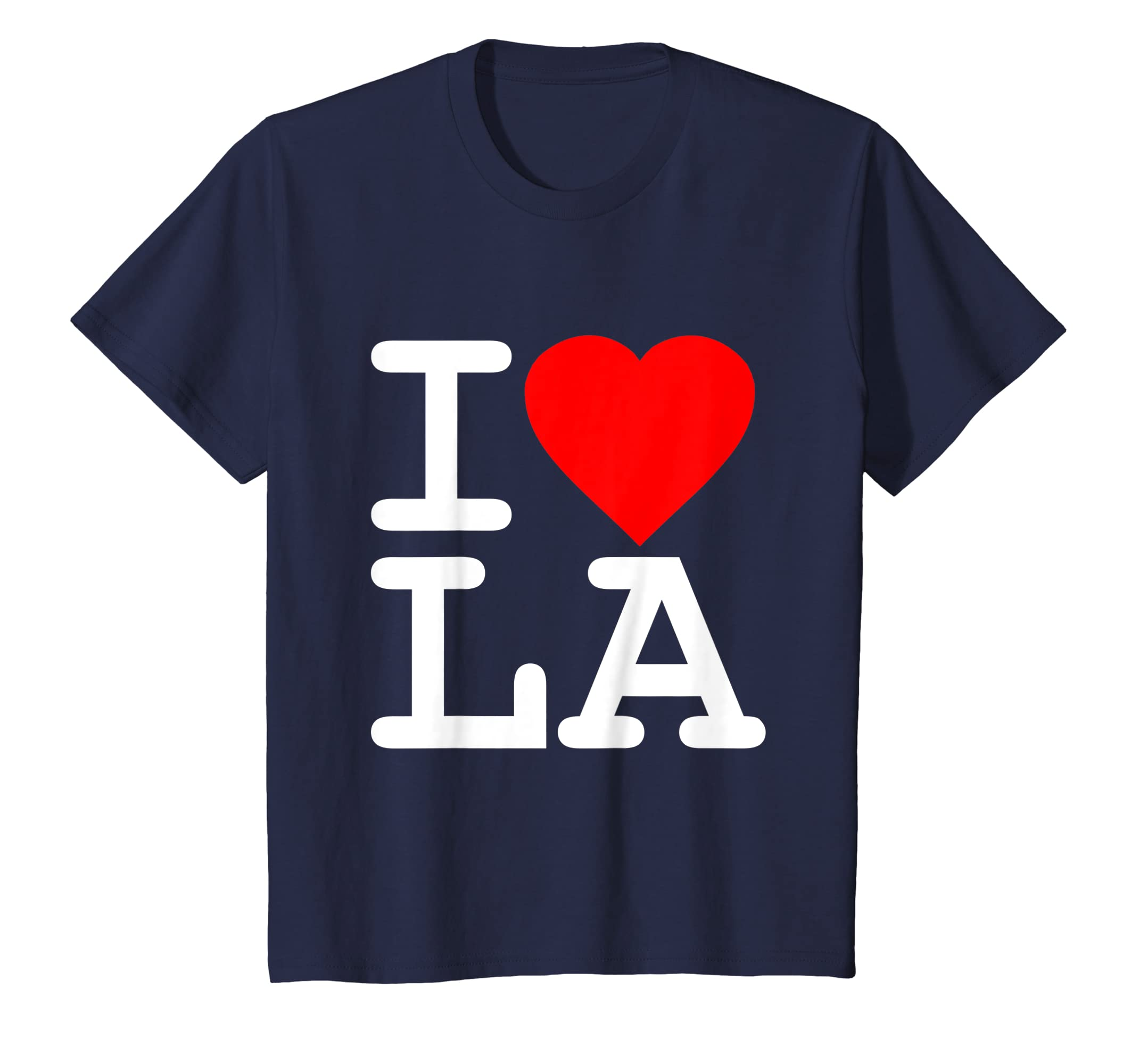 41c4d26038c9 Amazon.com  I Love LA Los Angeles T-Shirt  Clothing