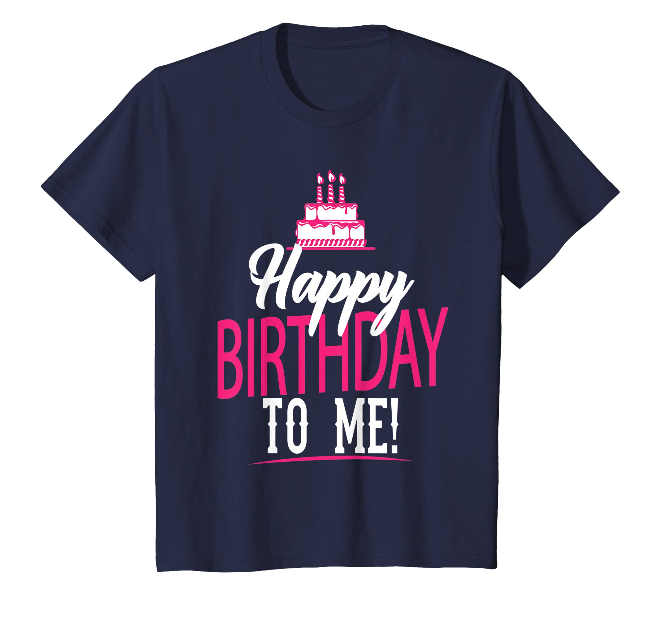 Amazon Happy Birthday To Me T Shirt For Women Girls Pink Text Clothing