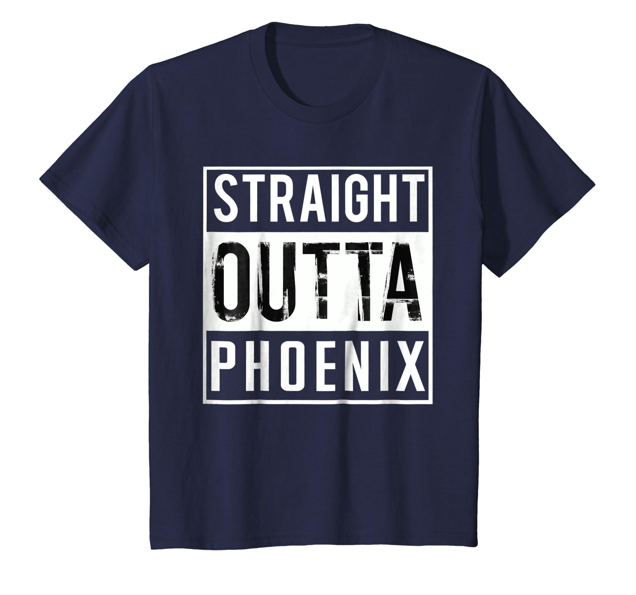 Straight Outta Phoenix Shirt for men/women T shirt-Awarplus