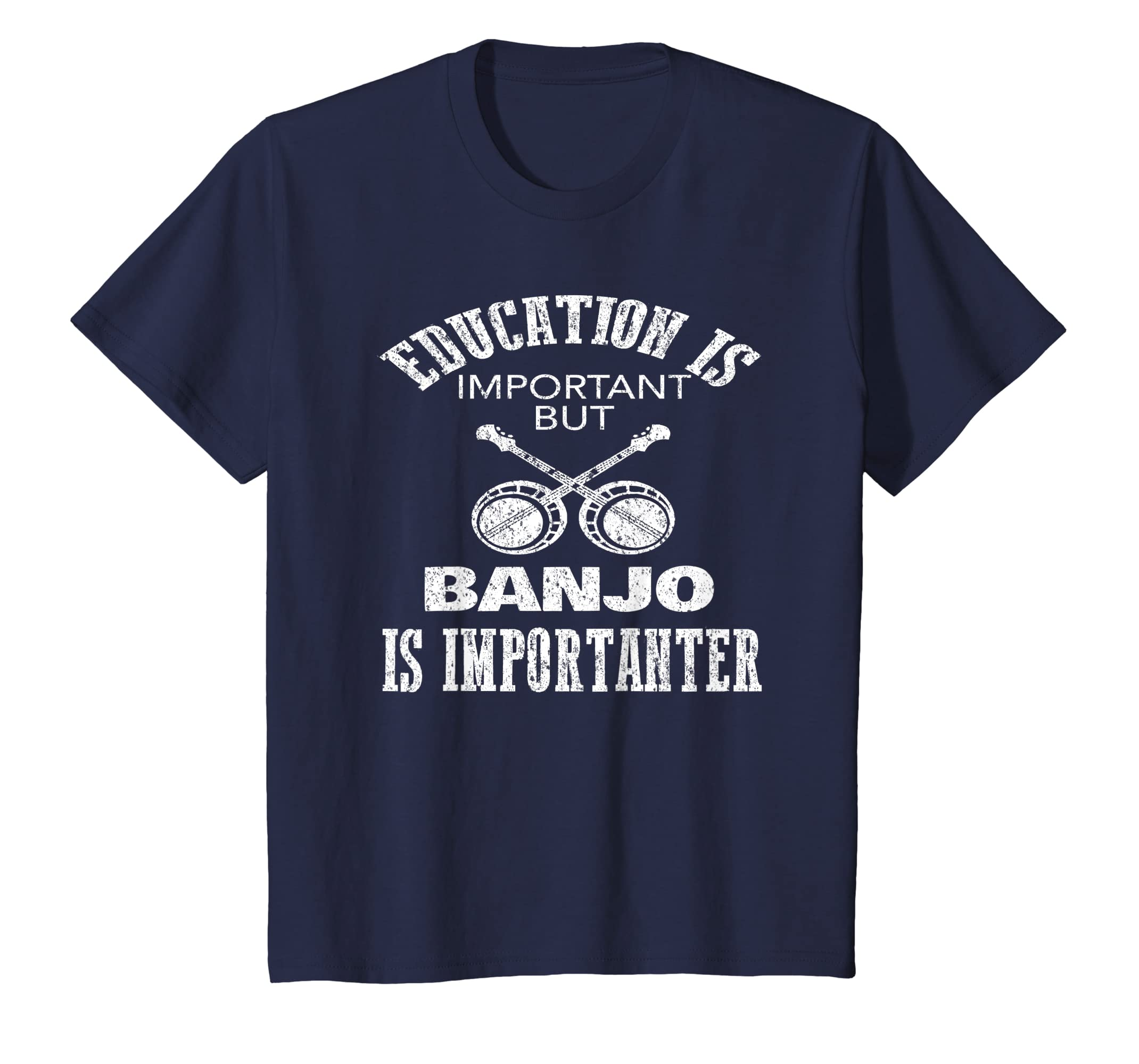 Education Is Important But Banjo Is Importanter T-Shirt