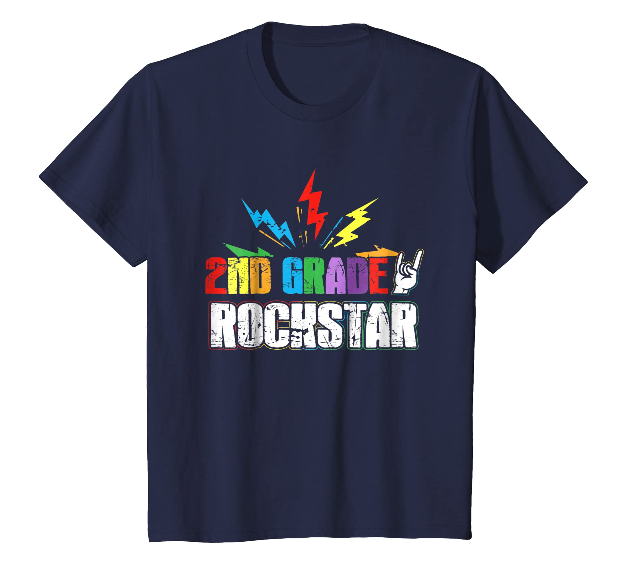 2nd Grade Rockstar Back To School 2018 T Shirt-Awarplus
