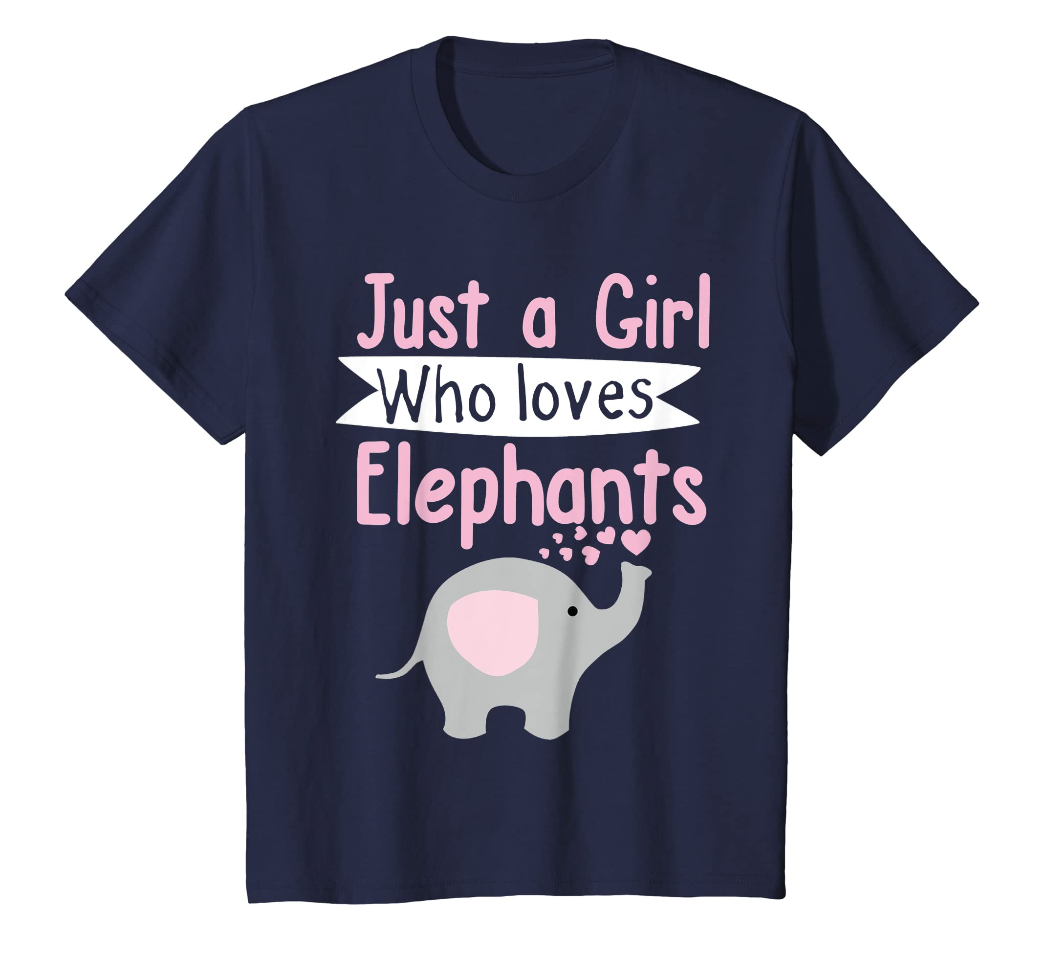 0be22cc0a Amazon.com  Cute Elephant T Shirt Just A Girl Who Loves Elephants  Clothing
