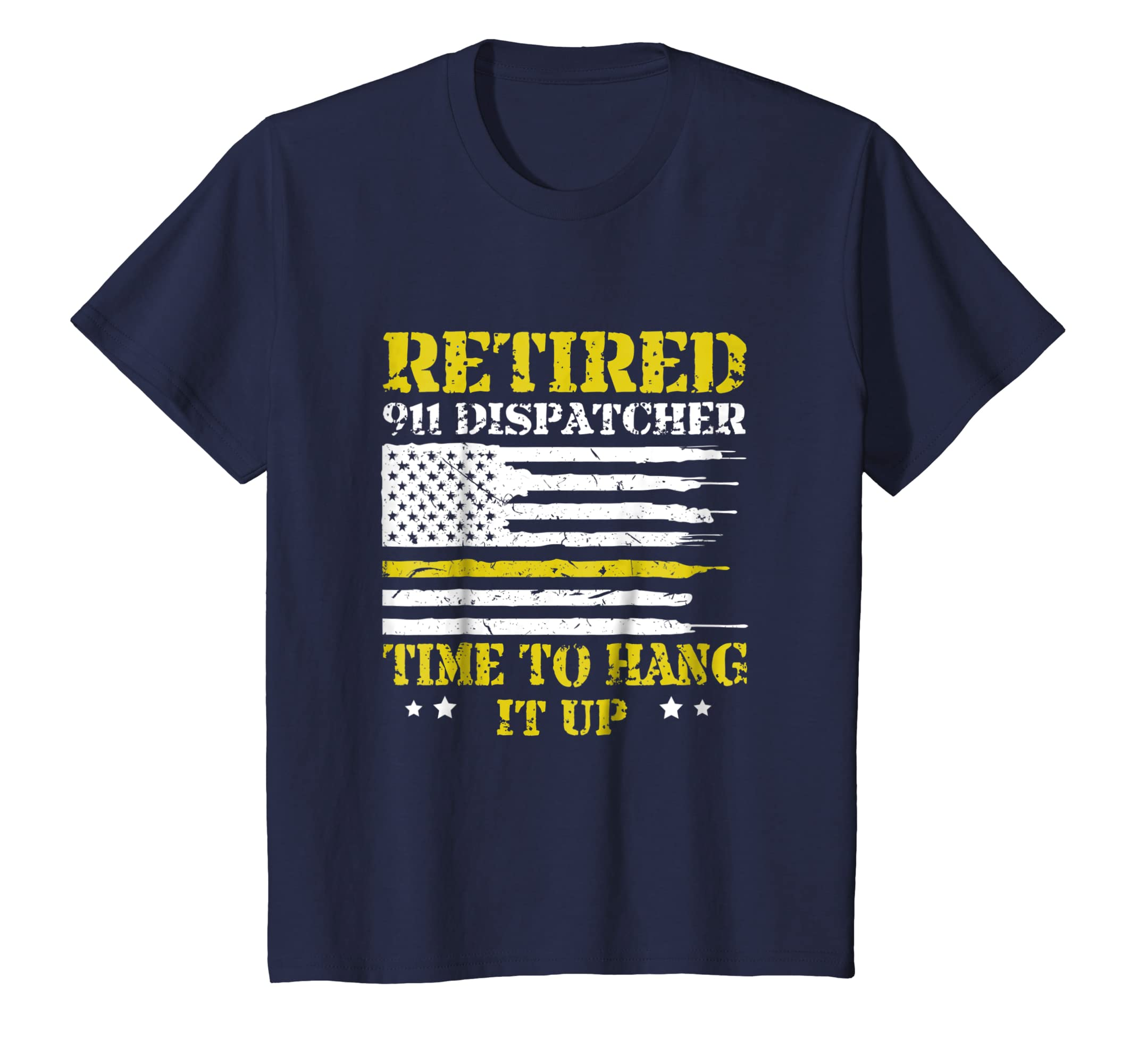 911 Dispatcher Retirement Time To Hang It Up Gift T Shirt