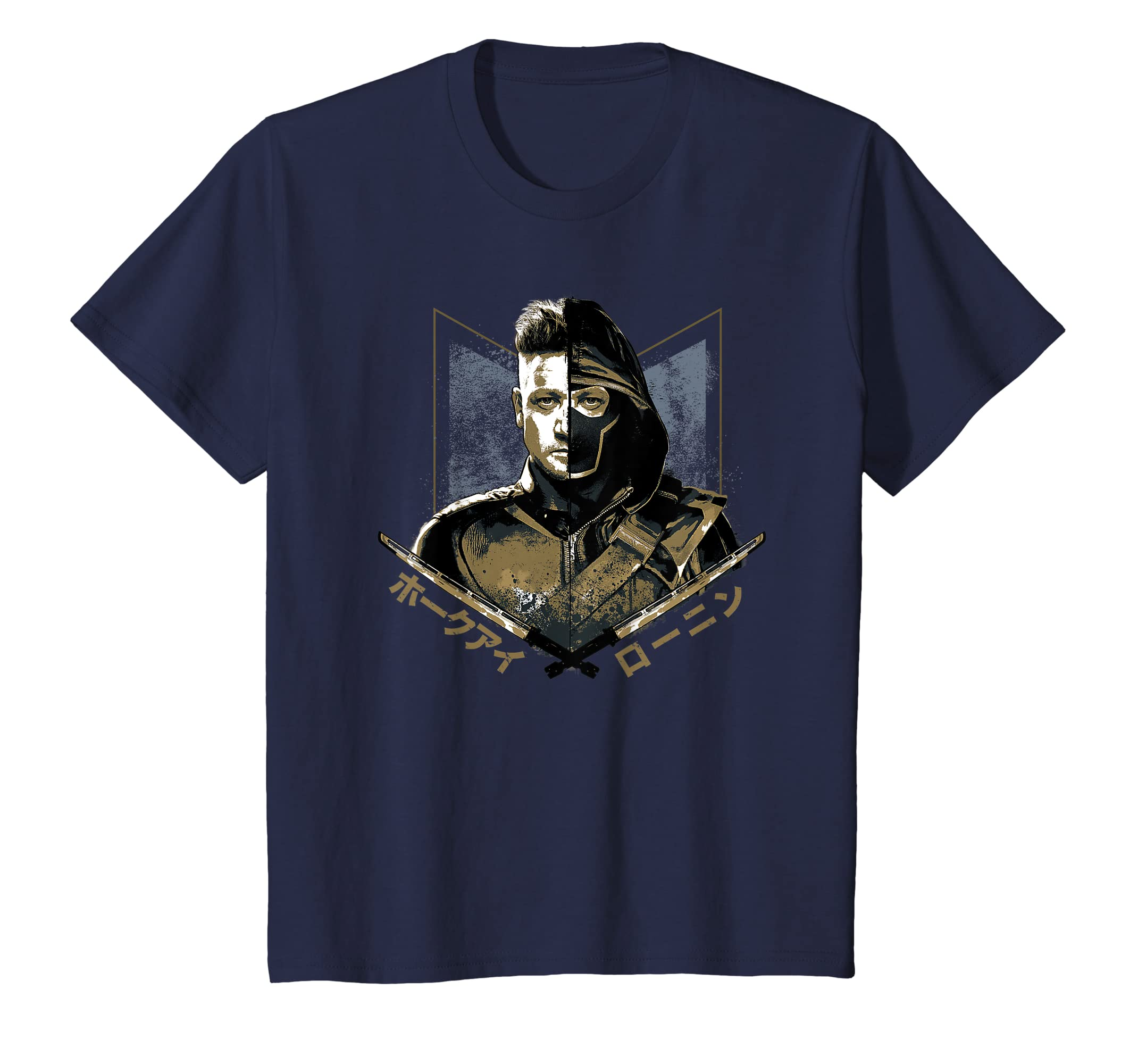 0a00d21e7b8d Amazon.com: Marvel Avengers: Endgame Ronin Hawkeye T-Shirt: Clothing