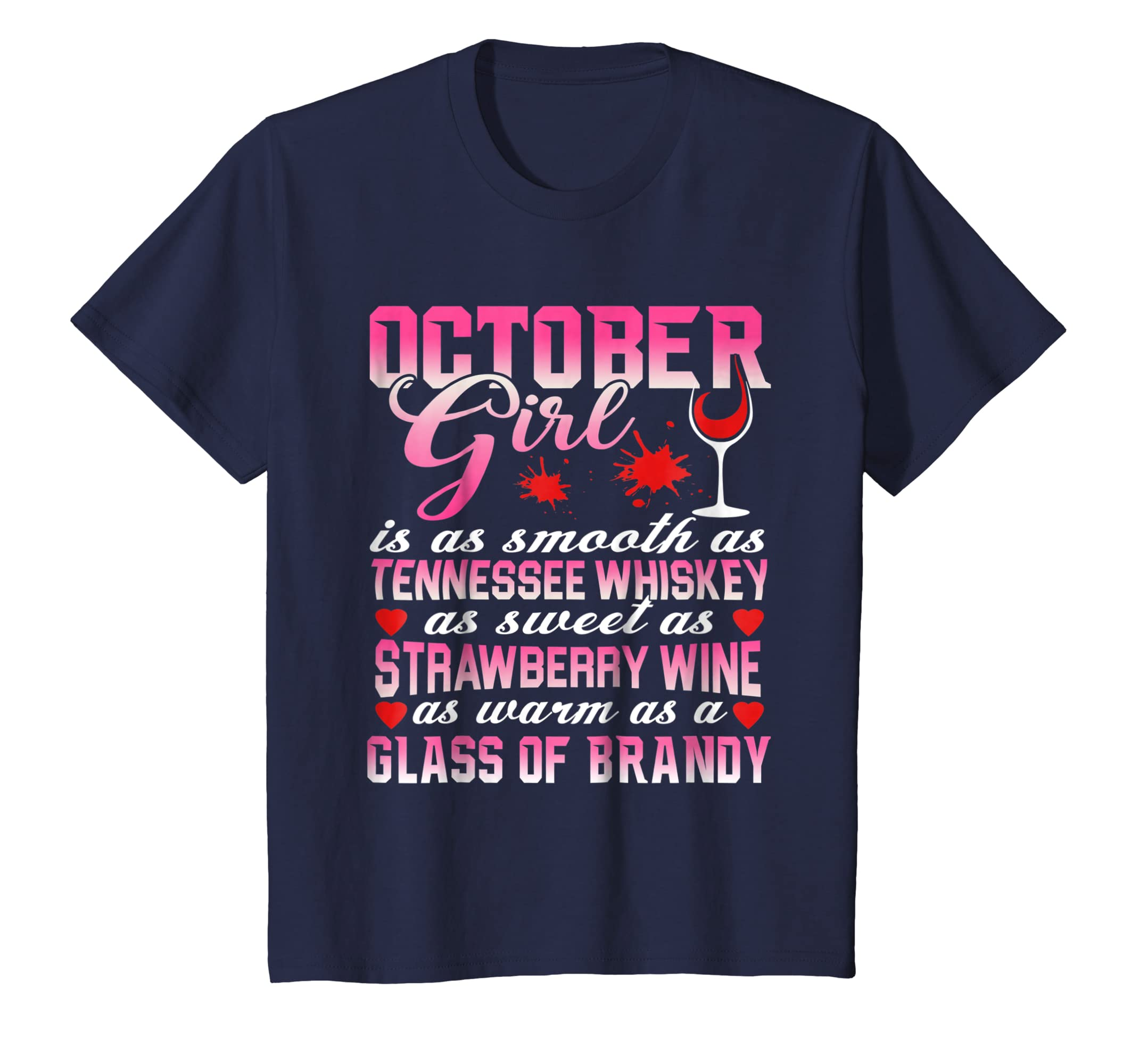 October Girl Is As Smooth As Tennessee Whiskey T Shirt