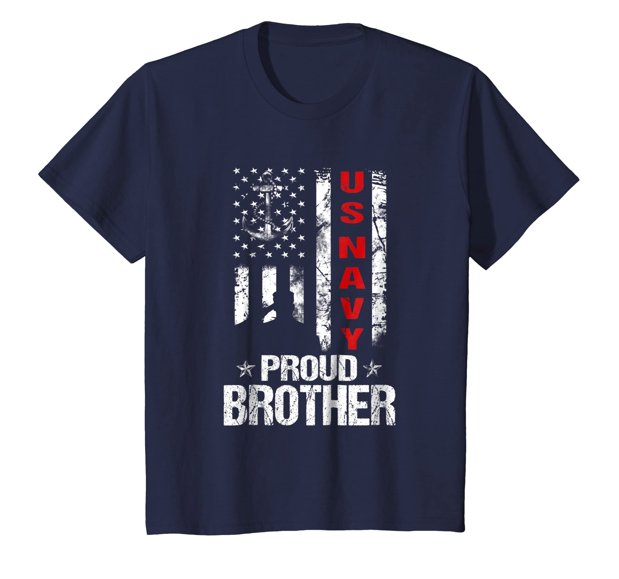 US Navy Proud Brother Veteran shirt-Bawle