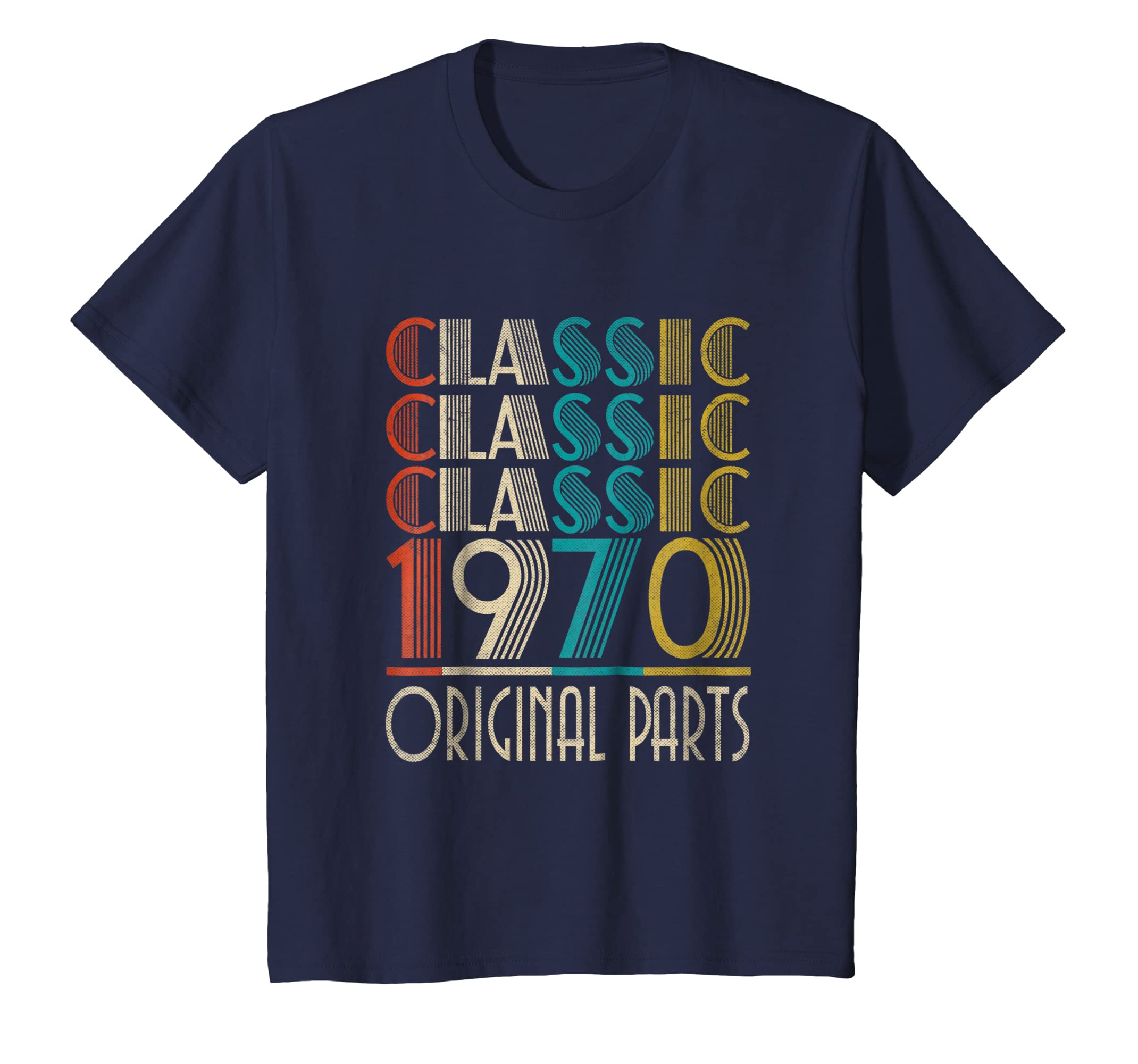 48th Birthday Classic Vintage 1970 T Shirt Gift