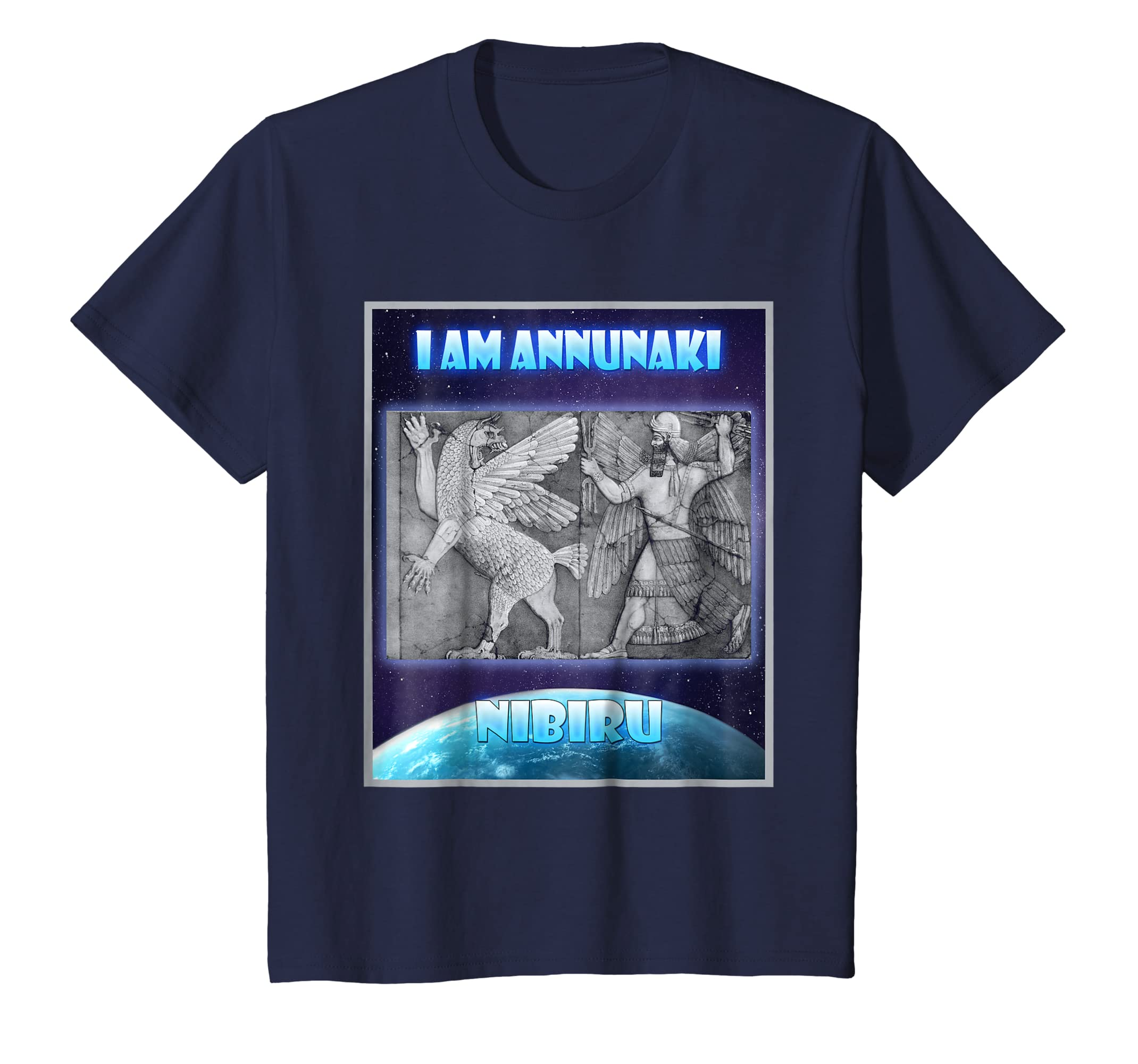 Amazon com: i am annunaki ancient aliens t-shirt, sumerian