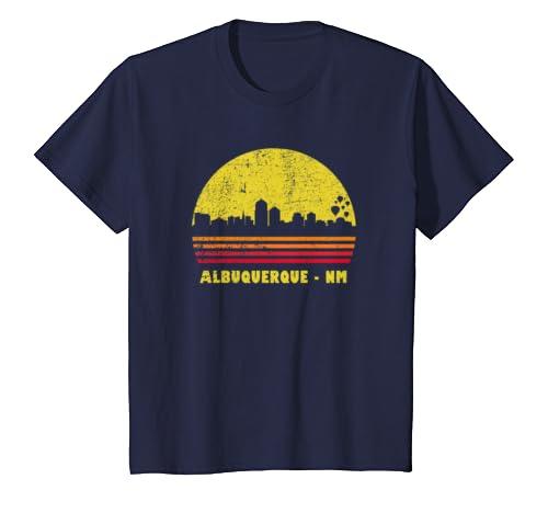 Amazon com: Vintage Retro Sunset Albuquerque NM Shirt