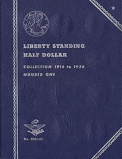 1948-1963 BENJAMIN FRANKLIN HALF DOLLAR No 9032:35 WHITMAN TRIFOLD COIN; ALBUM, BINDER, CARD, COLLECTION, FOLDER, HOLDER, ...