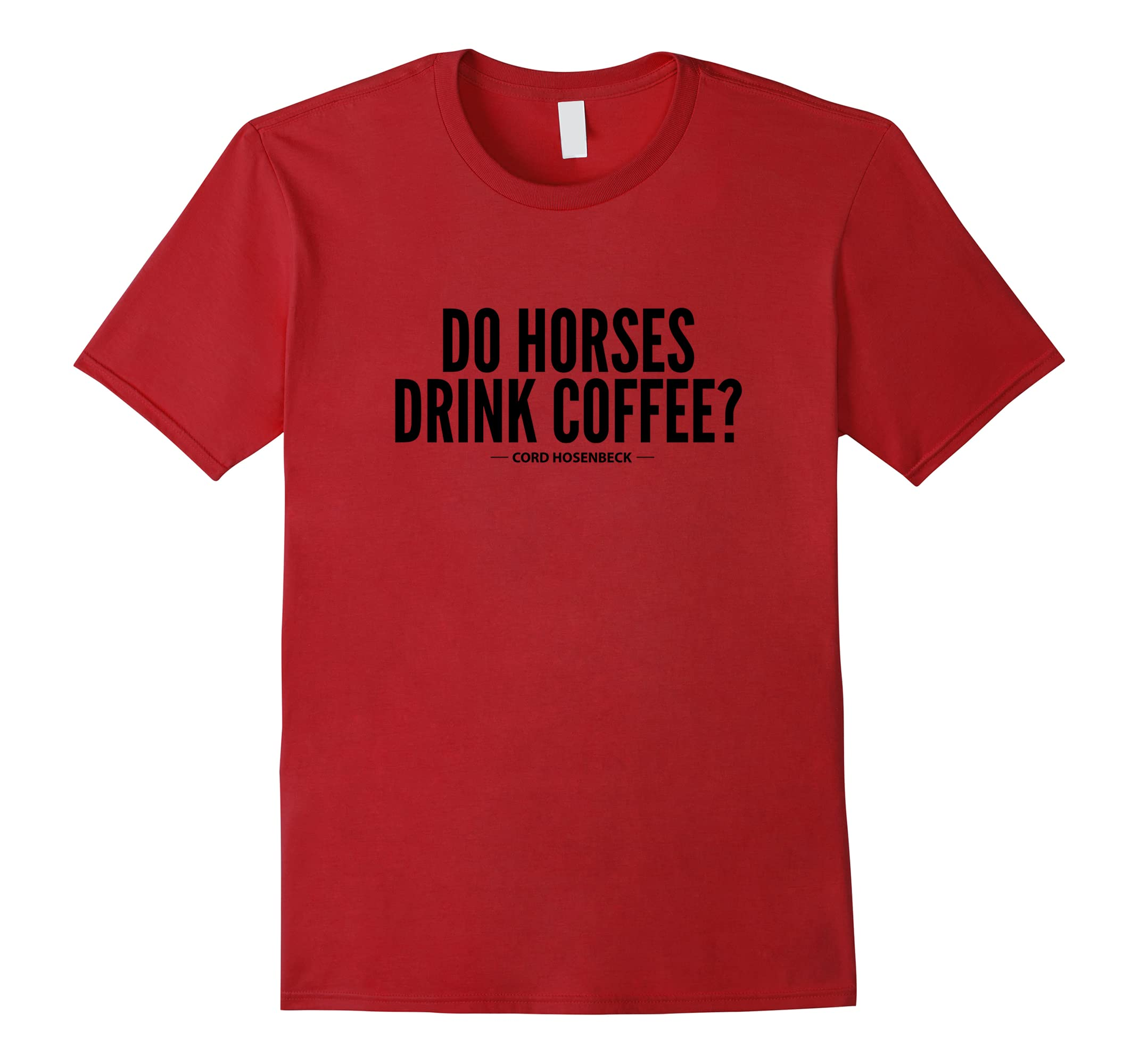 2018 PARADE Horse Coffee T Shirt-Awarplus