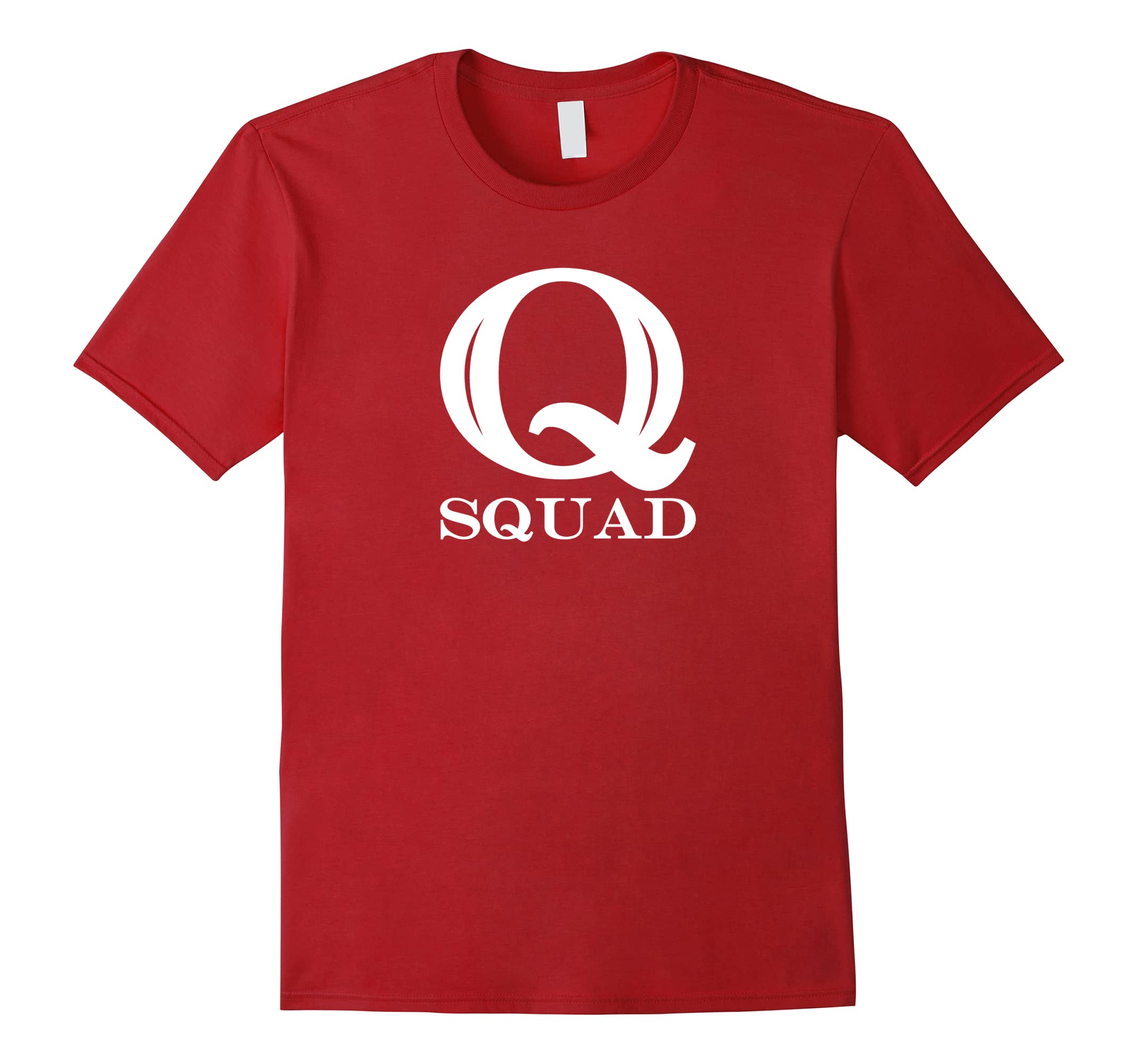 Q Squad T-Shirt For Q Anon Fans-RT