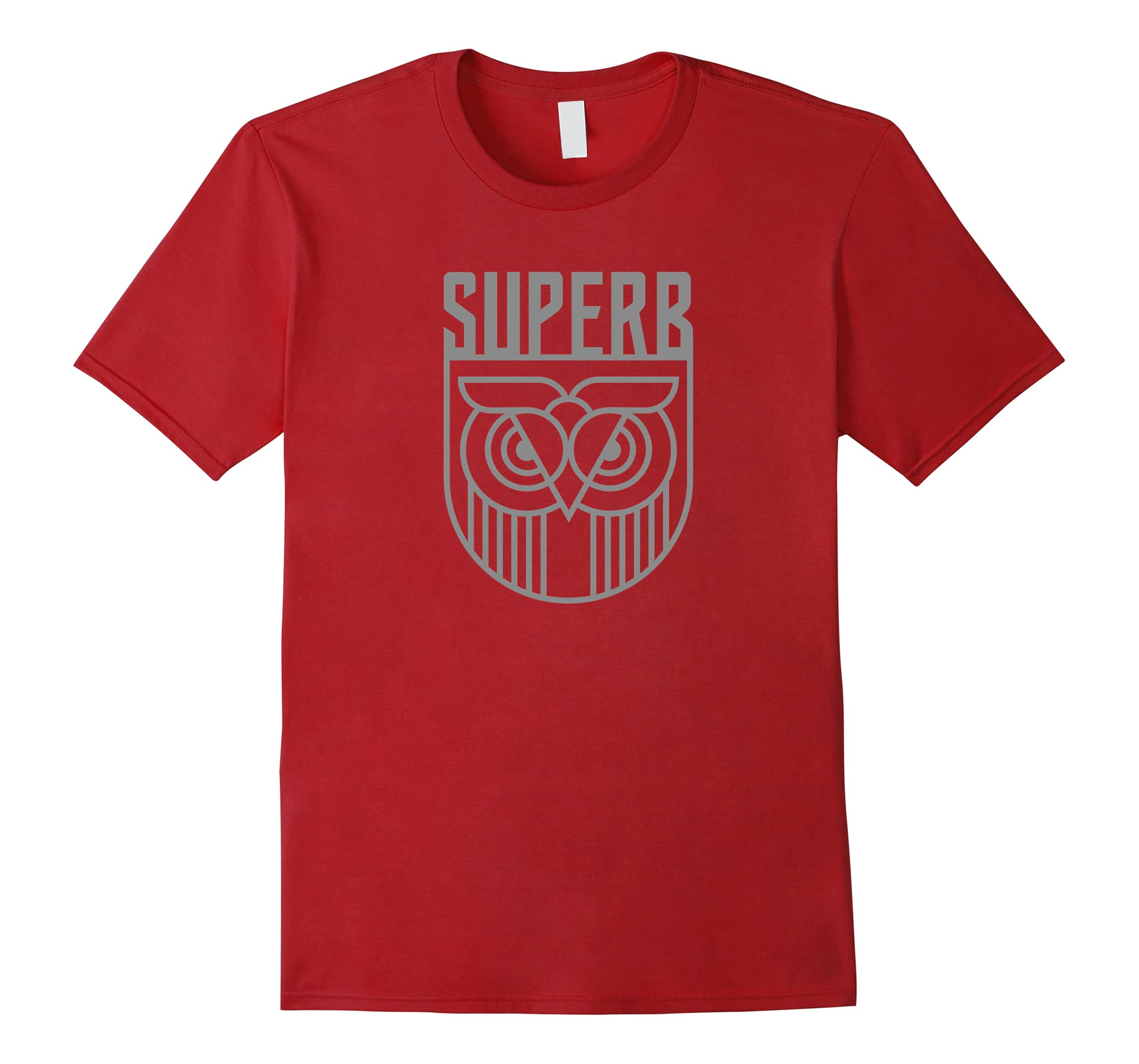 The Superb Owl Shield Shirt - Owl Bird Shirt-RT