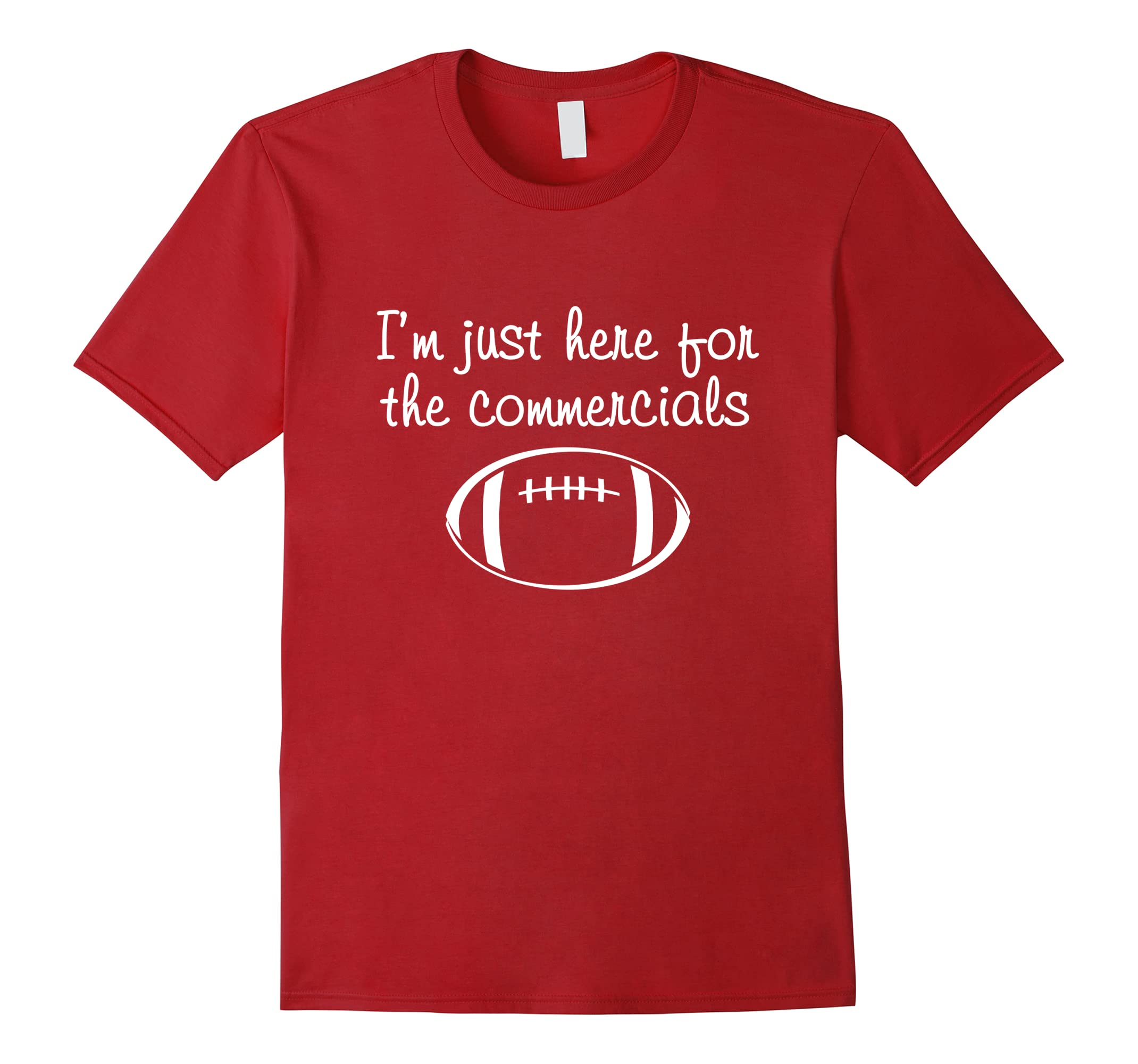 just commercials football womens shirt-Teesml