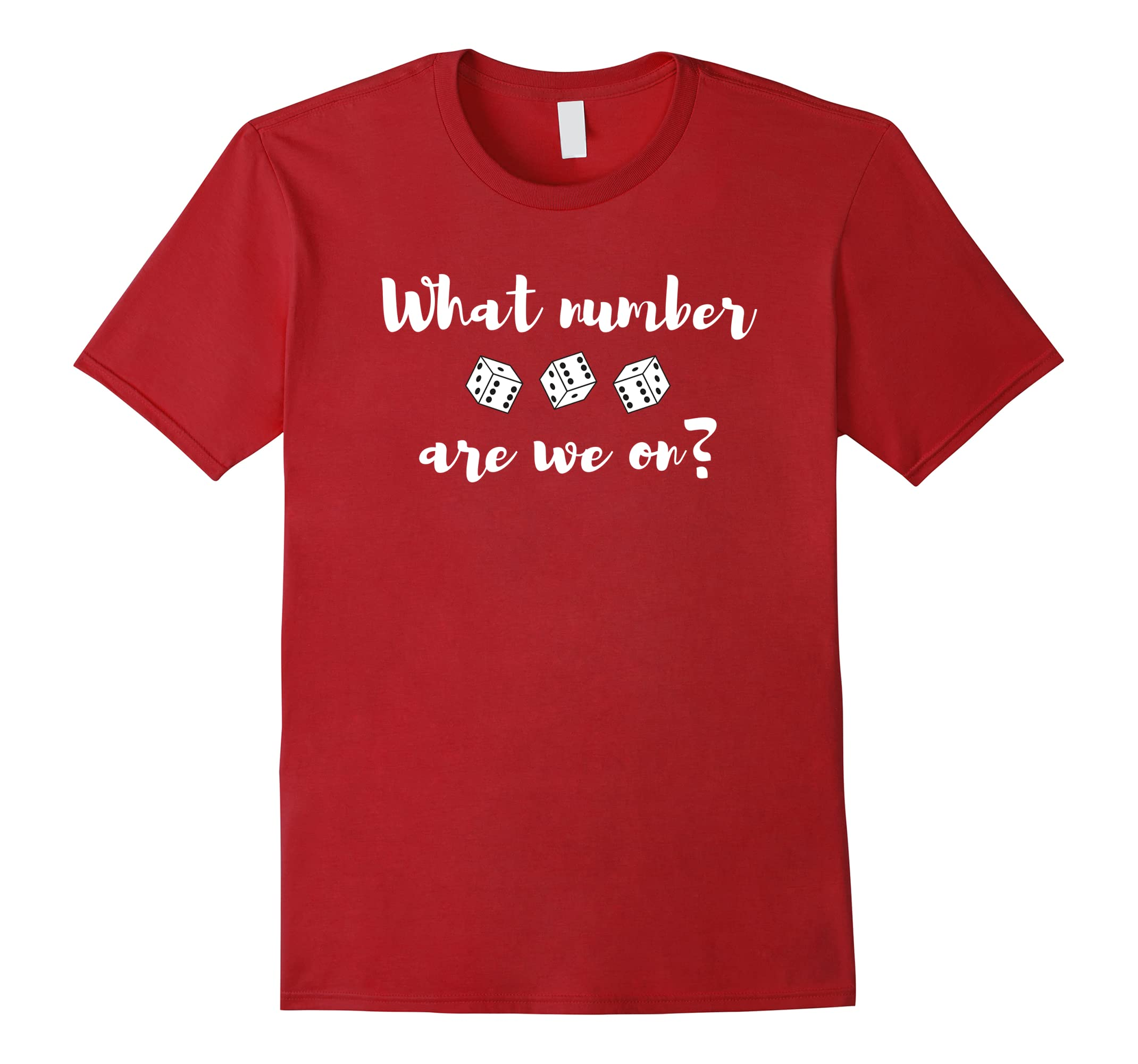 Funny Bunco Shirt What Number Are We On?-ah my shirt one gift