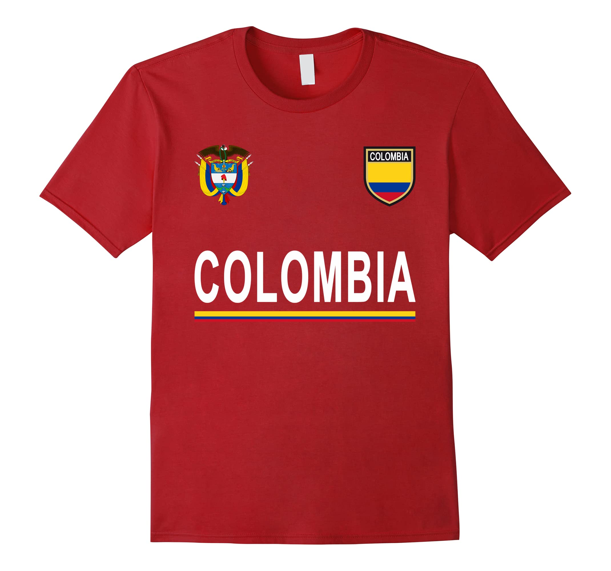 d77b312b69c Colombia Cheer Jersey 2018 – Football Colombian T-Shirt-RT – Rateeshirt