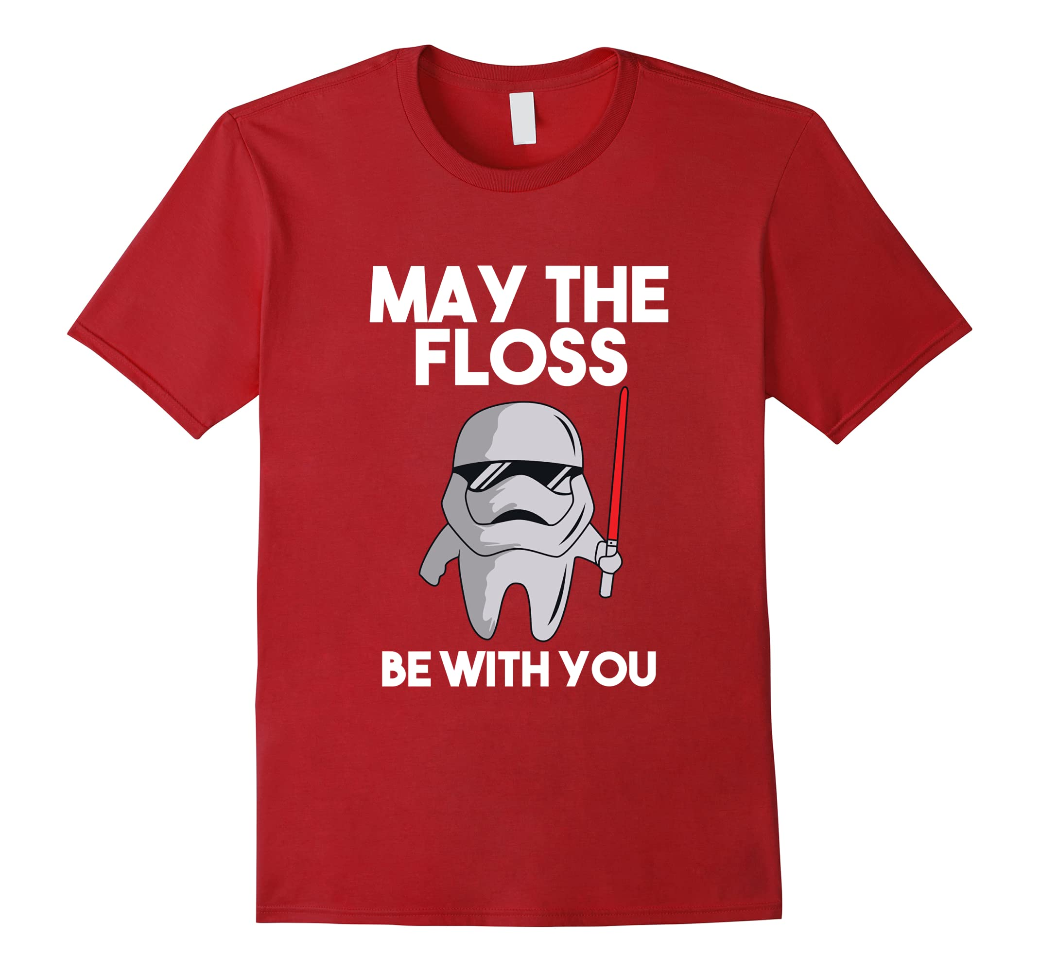 May The Floss Be With You Dentist Dental Hygienist T-Shirt-ah my shirt one gift