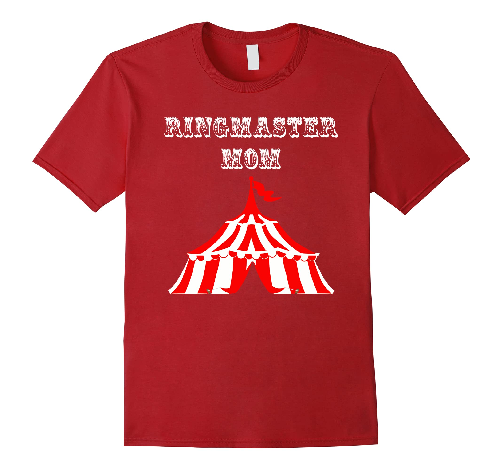 Ringmaster Mom Fun Circus Carnival Birthday Party T Shirt RT