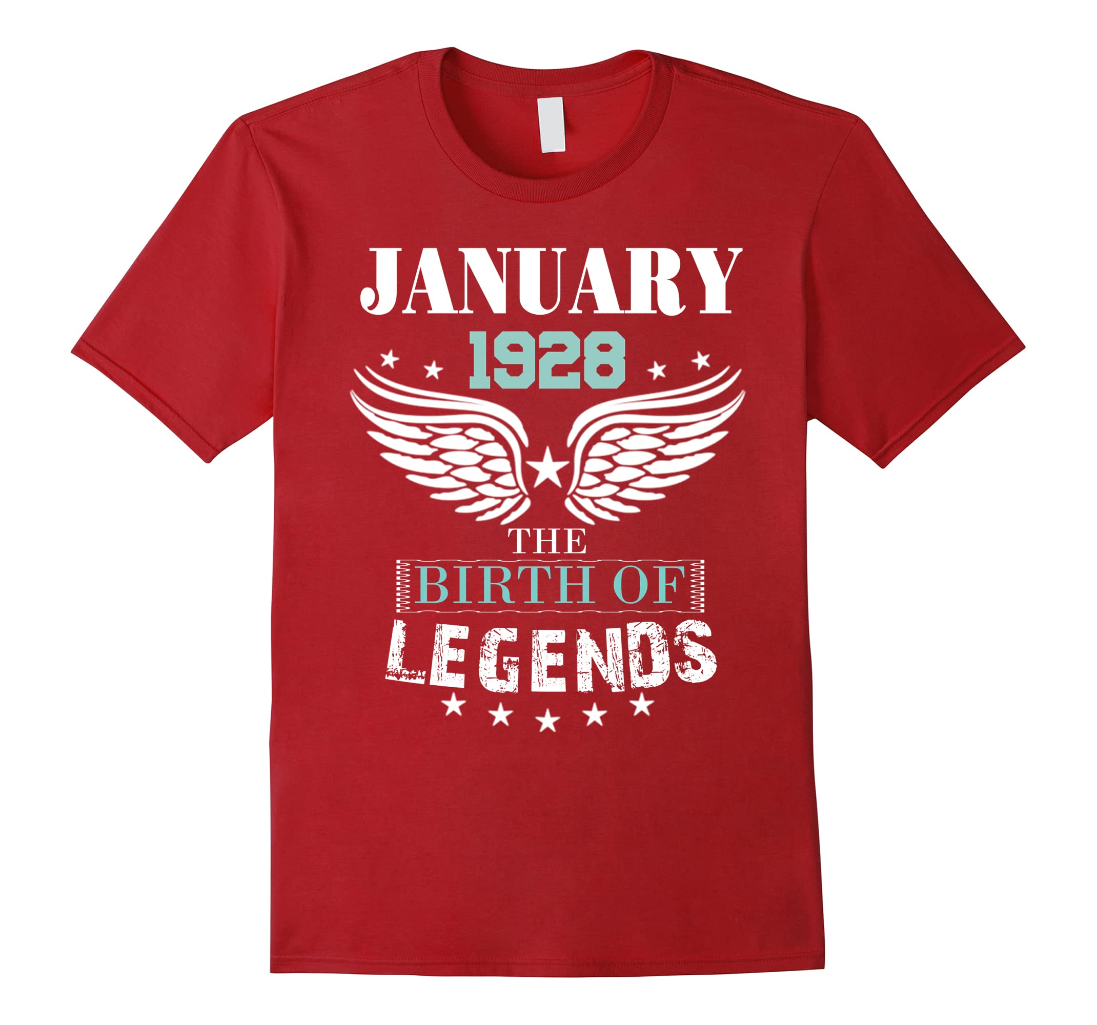 January 1928 Gift 90 Years Old Shirt