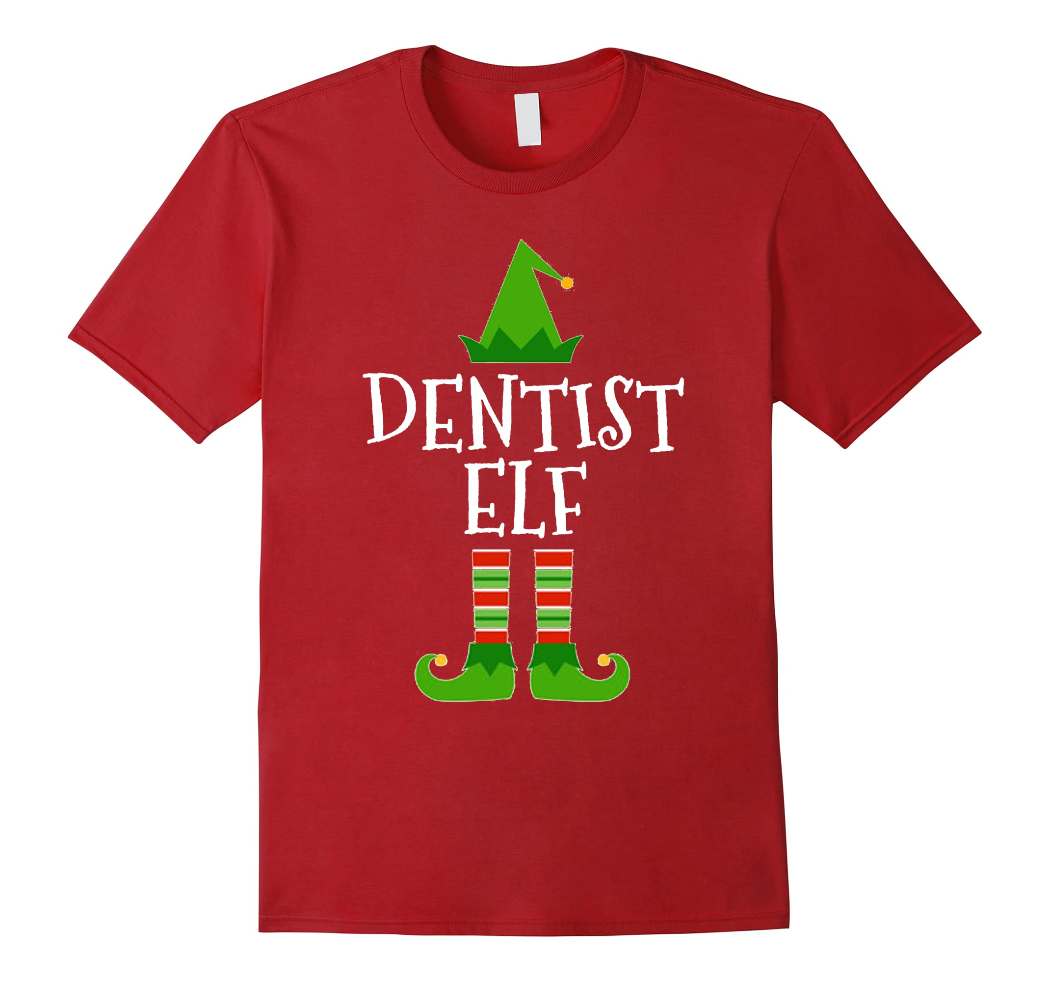 Christmas Dentist Elf.Dentist Elf Funny Dental Christmas T Shirt Rt