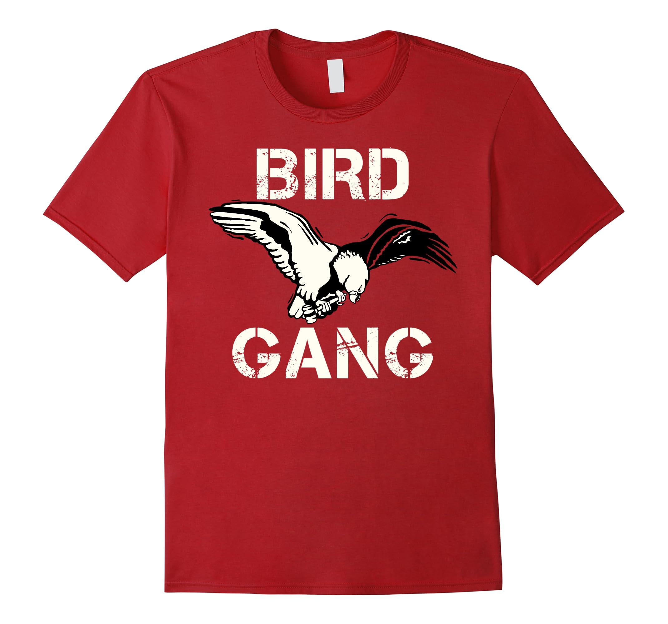 Bird Gang Eagle Tee Shirt Philadelphia Philly Football-ah my shirt one gift