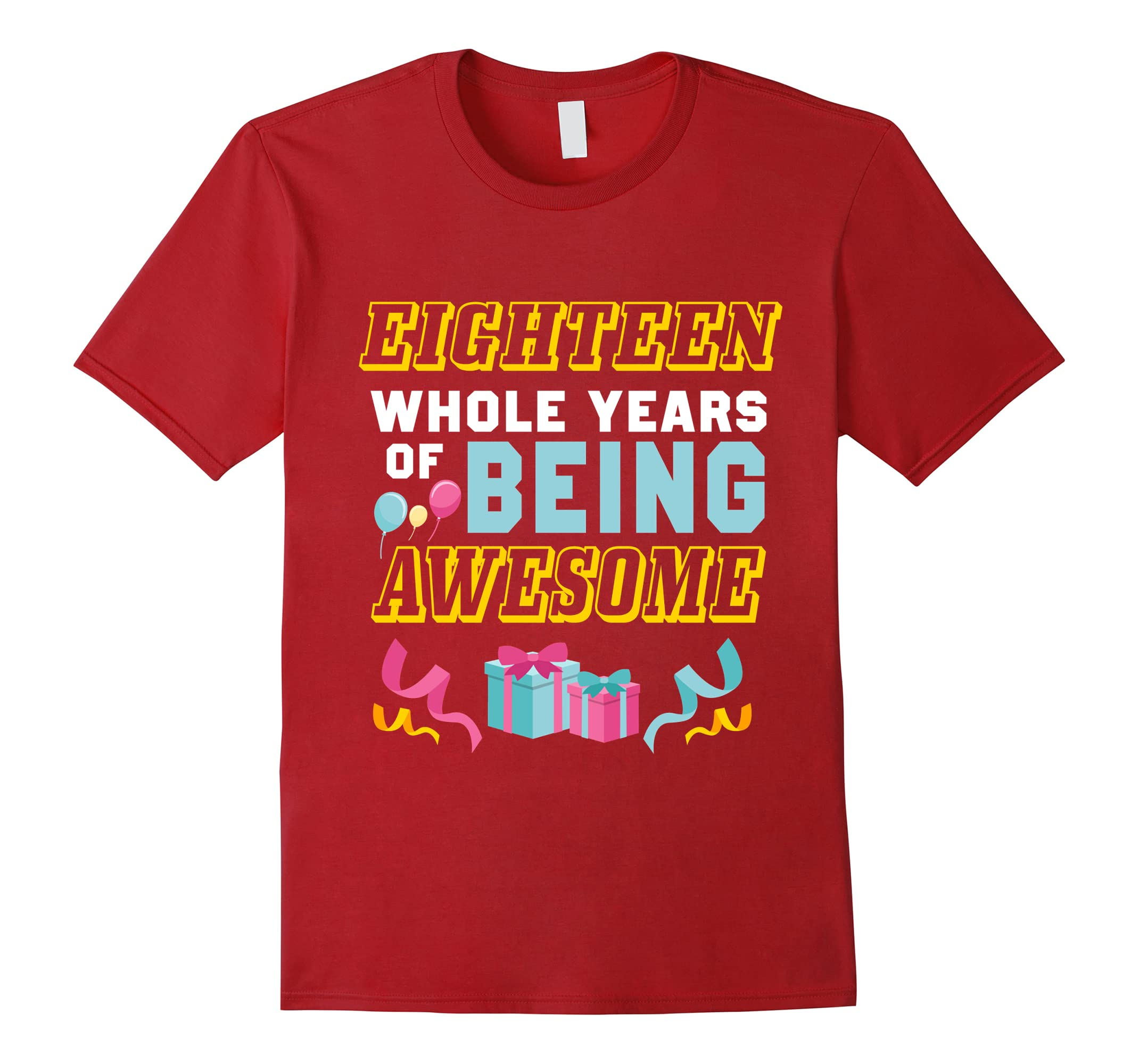 18th Birthday Gift For Daughter Son T Shirt From Dad Mom