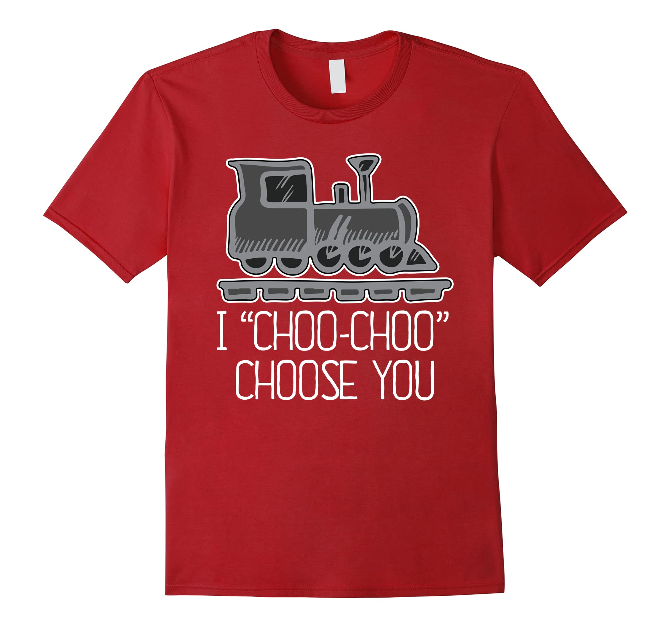 Choose Shirt Funny Train Engine-Teesml