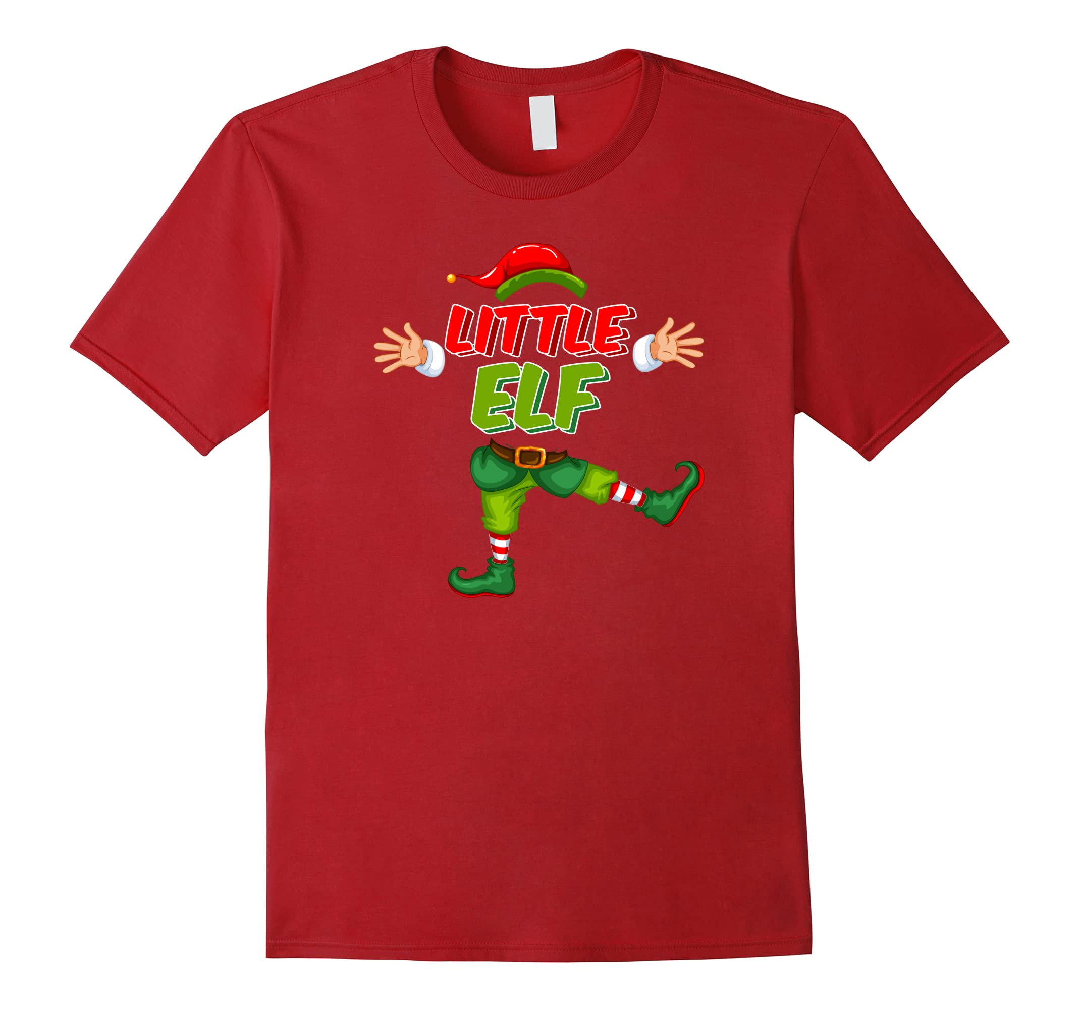 Little ELF Christmas Shirt Matching-Samdetee