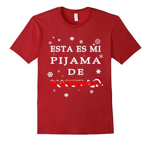 Amazon.com: Esta Es Mi Pijama De Navidad Camiseta De Navidad T-Shirt: Clothing
