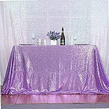 PartyDelight Sequin Tablecloth, Wedding, Sweetheart, Christmas Tree, Rectangular, 60