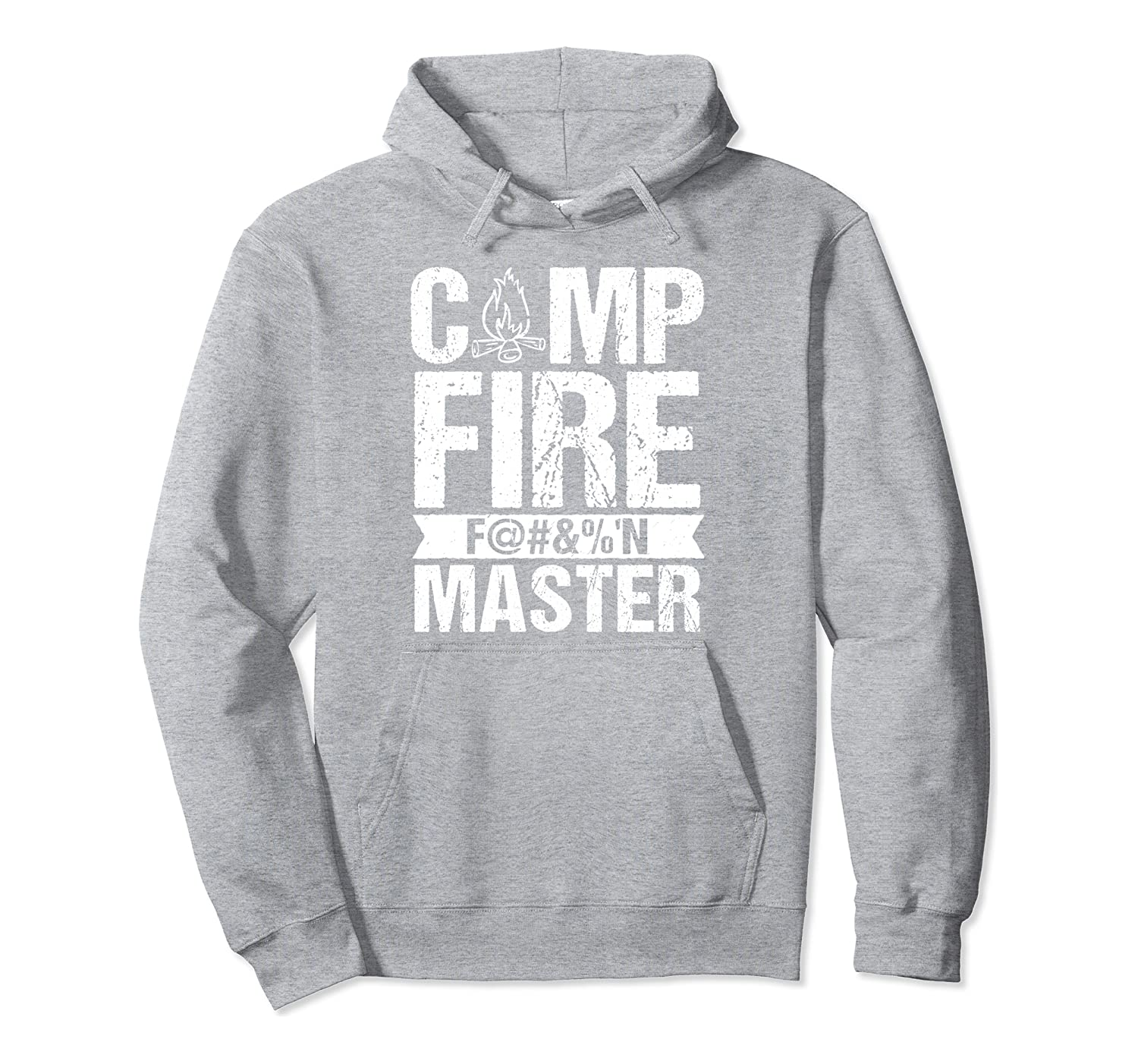 Campfire Me Crazy – Camping, Hiking, Lake Life Pullover Hoodie