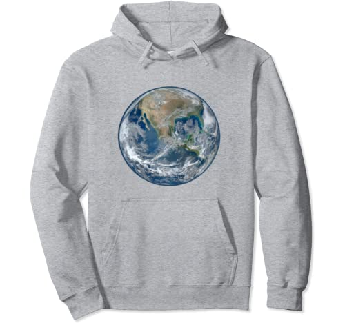 Planet Earth Nature Day Protect The Globe Gift Pullover Hoodie