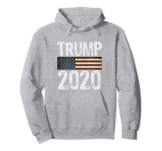 Amazon.com: Trump 2020 americano bandera de EE. UU. Vintage ...
