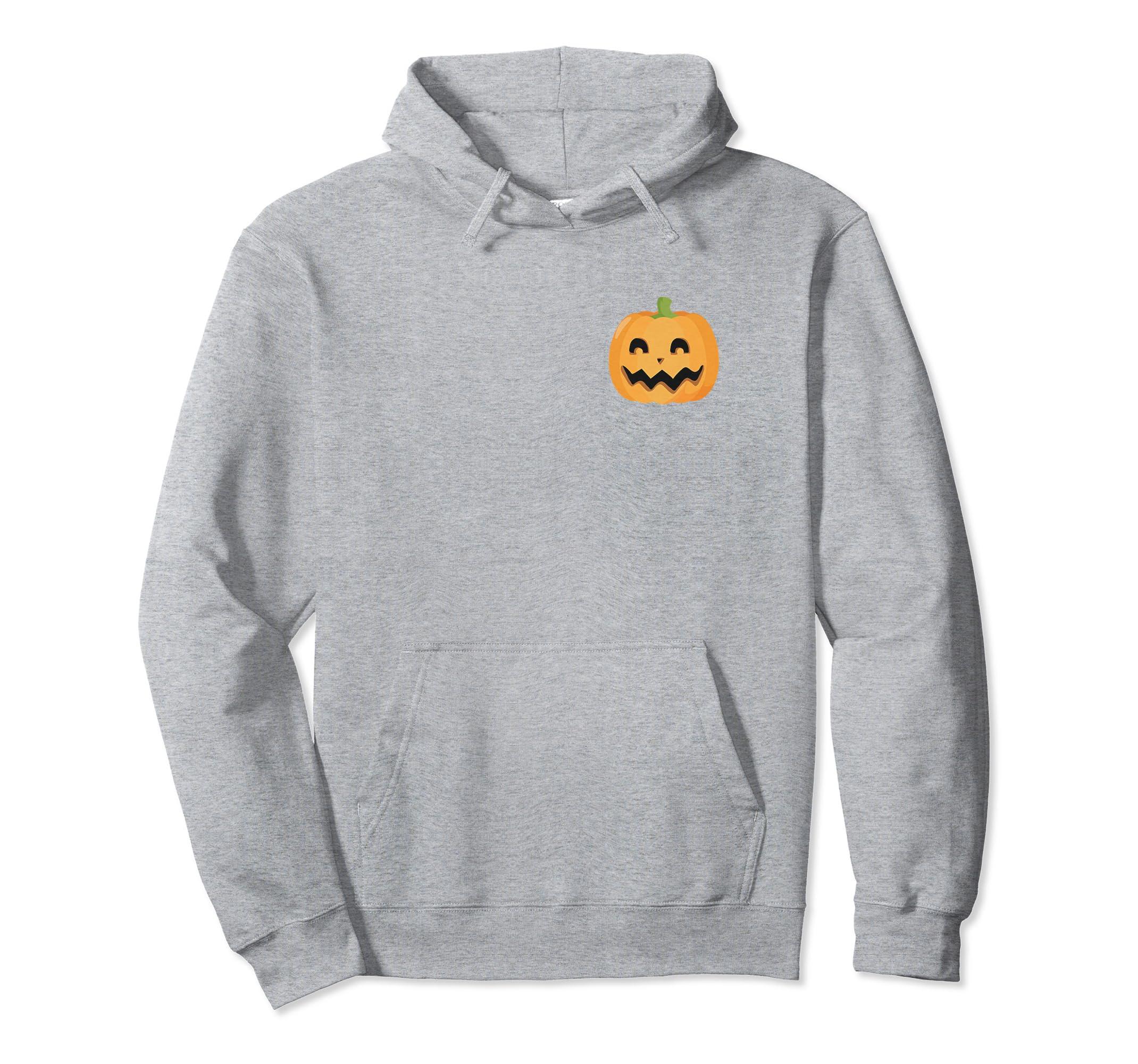 Funny Halloween Hoodie Crazy Halloween Lady Back Design-Rose